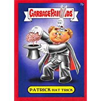 2015 Garbage Pail Kids Series 1 Metallic Red NonSport Trading Card #7B Patrick Hat Trick