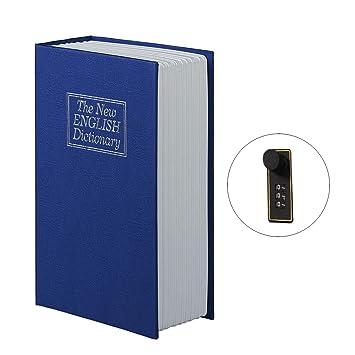 Buchsafe, FOKOM Buchtresor Büchertresor Buchattrappe Geldkassette ...