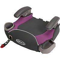 (跨境自营)(包税) GRACO 葛莱 汽车儿童安全座椅增高垫4-12岁 ISOFIX\LACTH 紫色