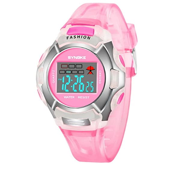 Relojes para adolescentes, niñas, impermeables, reloj de pulsera para niños, niñas,