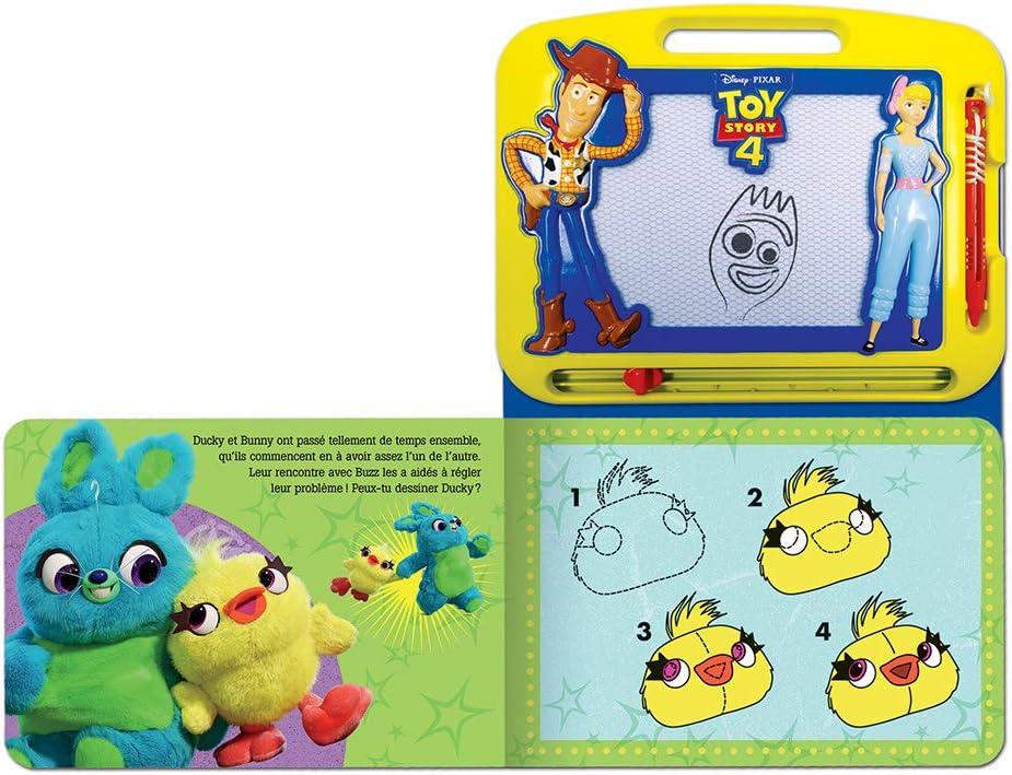 Escribir y dibujar franc/és multicolor Phidal Pixar Disney Toy Story 4