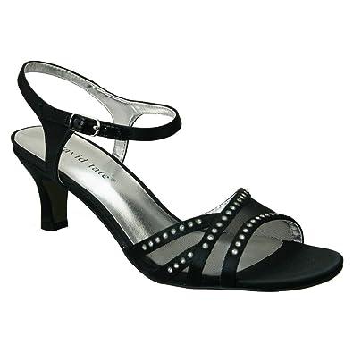ba23fba178d118 David Tate Women s Violet Black Sandal 6 M ...