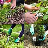7pcs Garden Tools Set, Quimat Aluminum Alloy Hand