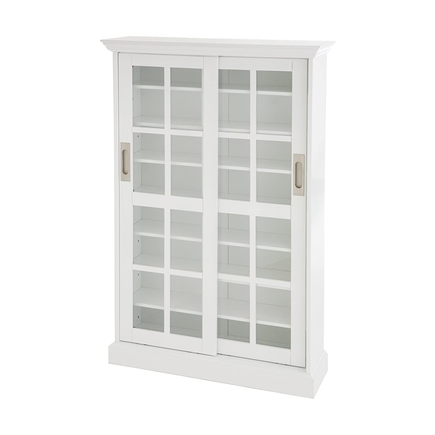 Amazon sliding door media cabinet white kitchen dining eventshaper