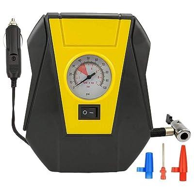 RETYLY Auto Portatif De Pompe électrique De Compresseur d'air De Voiture De Gonfleur De Pneu 12V DC Volt 100 Psi