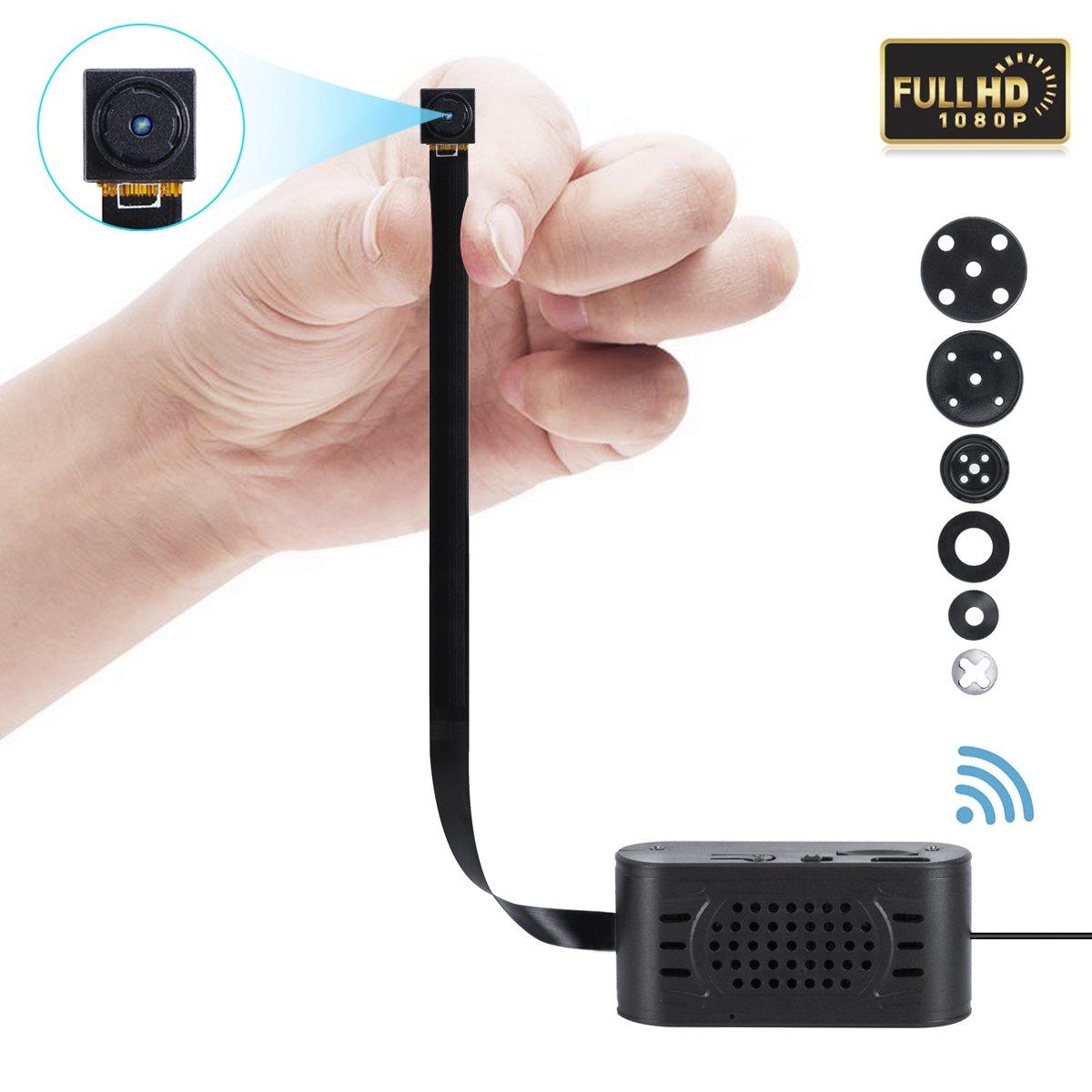 Remote DVR Pinhole Spy Cam with Motion Detection