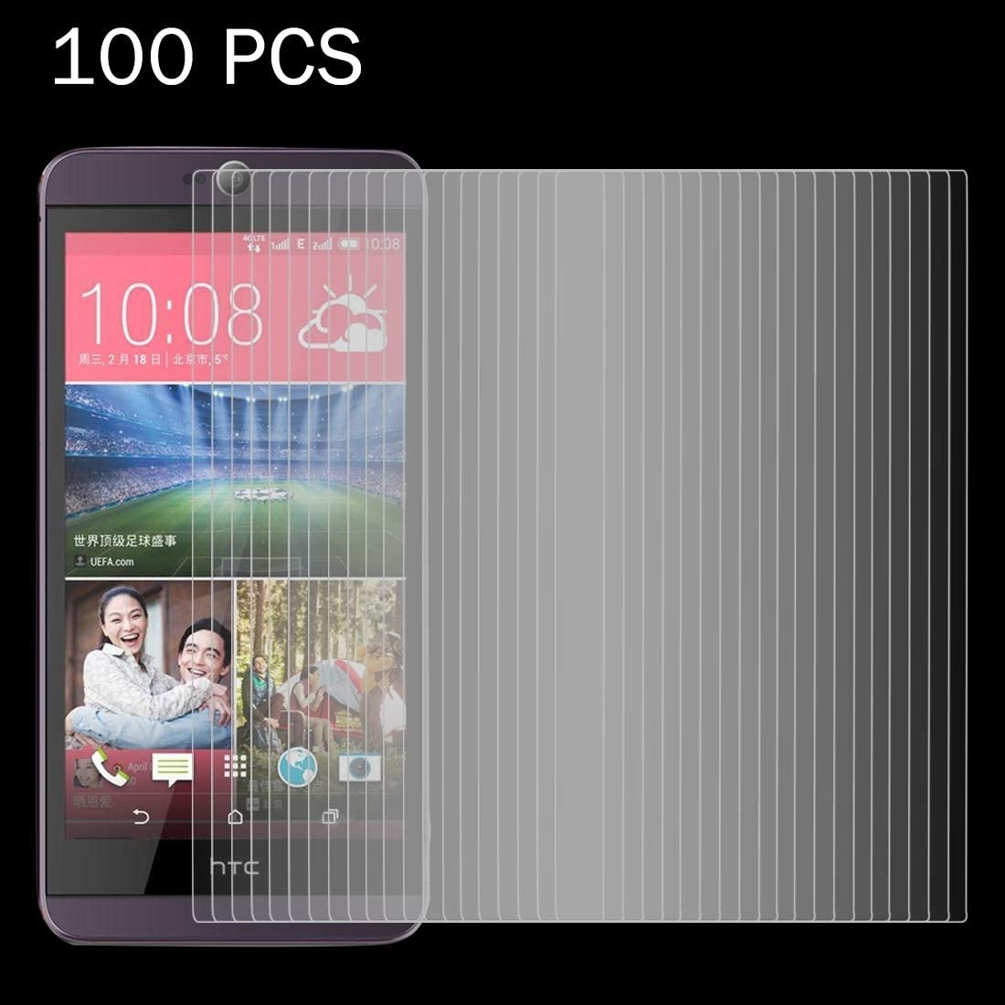 100 PCS for HTC Desire 626 0.26mm 9H Surface Hardness 2.5D Explosion-Proof Tempered Glass Screen Film Clear YINZHI Screen Protector Film