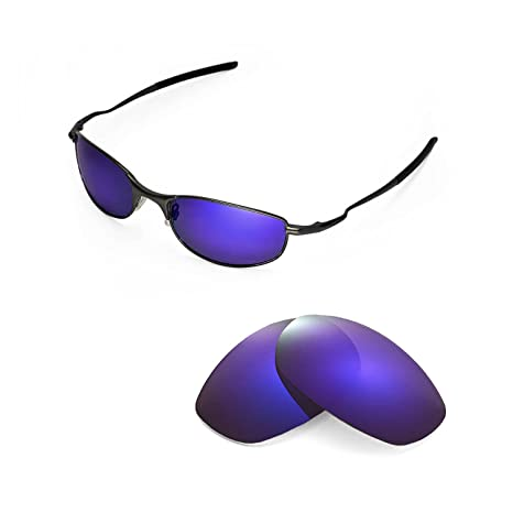 f640d81624 Buy Walleva Replacement Lenses for Oakley Tightrope Sunglasses-9 Options  Available (Purple - Polarized) Online at Low Prices in India - Amazon.in