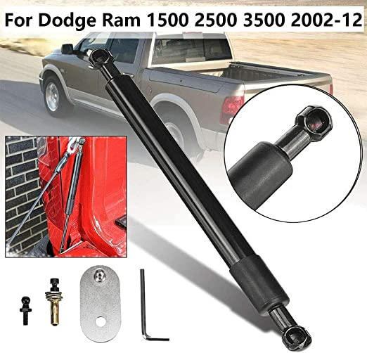 Automotive Replacement Shock Lift Supports Tailgate Rear Gas Struts Assist Shock Struts For Dodge Ram 1500 2500 3500 2002-2012