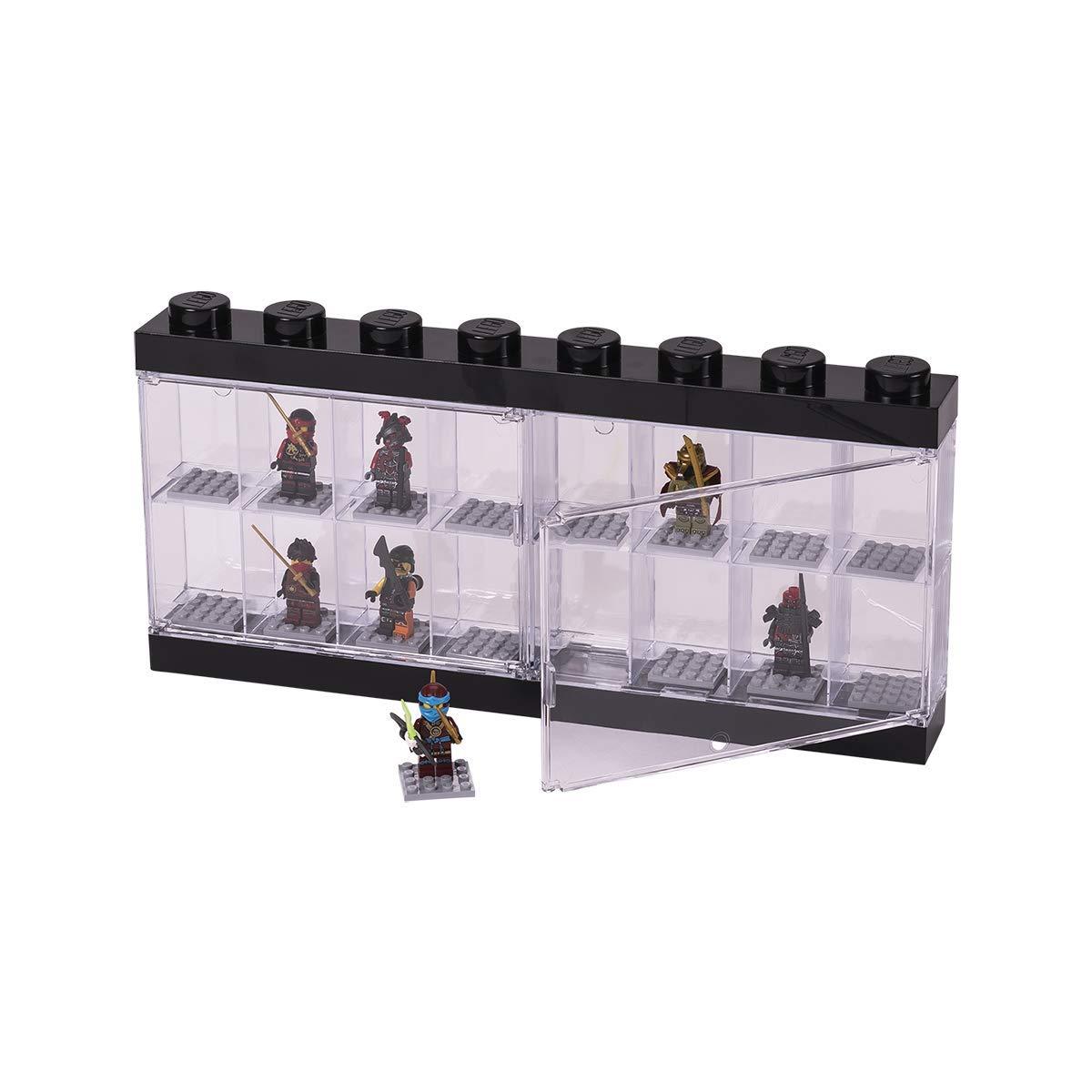 Bedwelming Amazon.com: LEGO Minifigure Display Case 16 Black, Large: Room @OS37