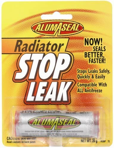 AlumAseal Radiator Stop Leak Powder Blister Card