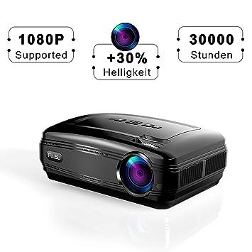 Vídeo proyector, Cine en casa proyector Office presentaciones PowerPoint con Amazon Fire TV Stick Chromecast