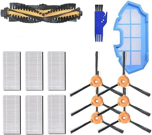 MAXDIRECT Kit de Recambios de Accesorios para Aspiradora Robot ...