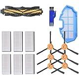 MAXDIRECT Kit de Recambios de Accesorios para Aspiradora Ecovacs Deebot N79 N79S - Cepillo Lateral, Cepillo Central…