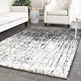 Cheap Safavieh Retro Collection RET2770-9079 Modern Abstract Black and Light Grey Area Rug (2'6″ x 4′)