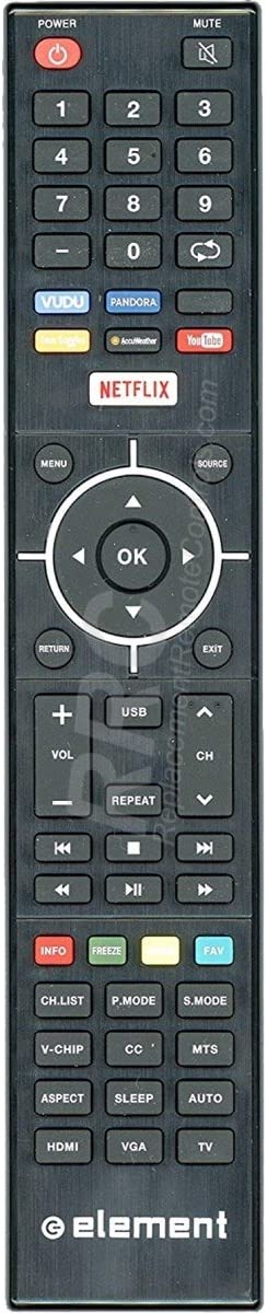 Amazon Com Original Element 845 058 03b03 Tv Remote Control For Elsj4016 Elst5016s Elefj322s Elst4316s Elst3216h E4sfc551 E4sfc421 E4sfc651 E4sj5516h E4st4316h Home Audio Theater