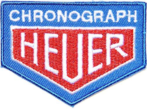 TAG HEUER CHRONOGRAPH Checkered Flag Watch Car Motorcycles Racing Biker Motogp Motorcorss Logo Jacket Patches