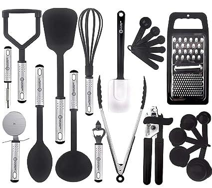 Buy Kitchen Utensil Set 23 Nylon Cooking Utensils