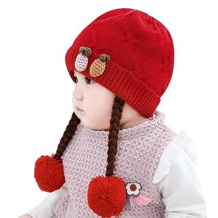 47dcdddf00e Amazon.com  Little Kid Soft Warm Knitted Hat