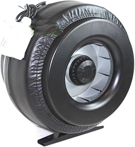 12 Inch Inline Duct Fan Vent Exhaust Air Cooled Hydroponic Fan Blower 1200CFM, New