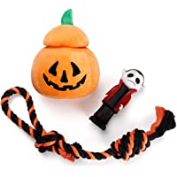 3-Pack Halloween Dog Toy