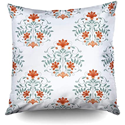 Amazon.com: XMas Oriental Pattern Decorative Throw Pillow ...