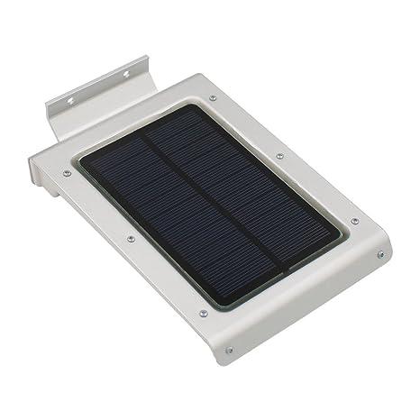 Easternstar Lámpara Solar LED de Pared, 46 LEDs Foco Solar,Aplique Solar de Exterior