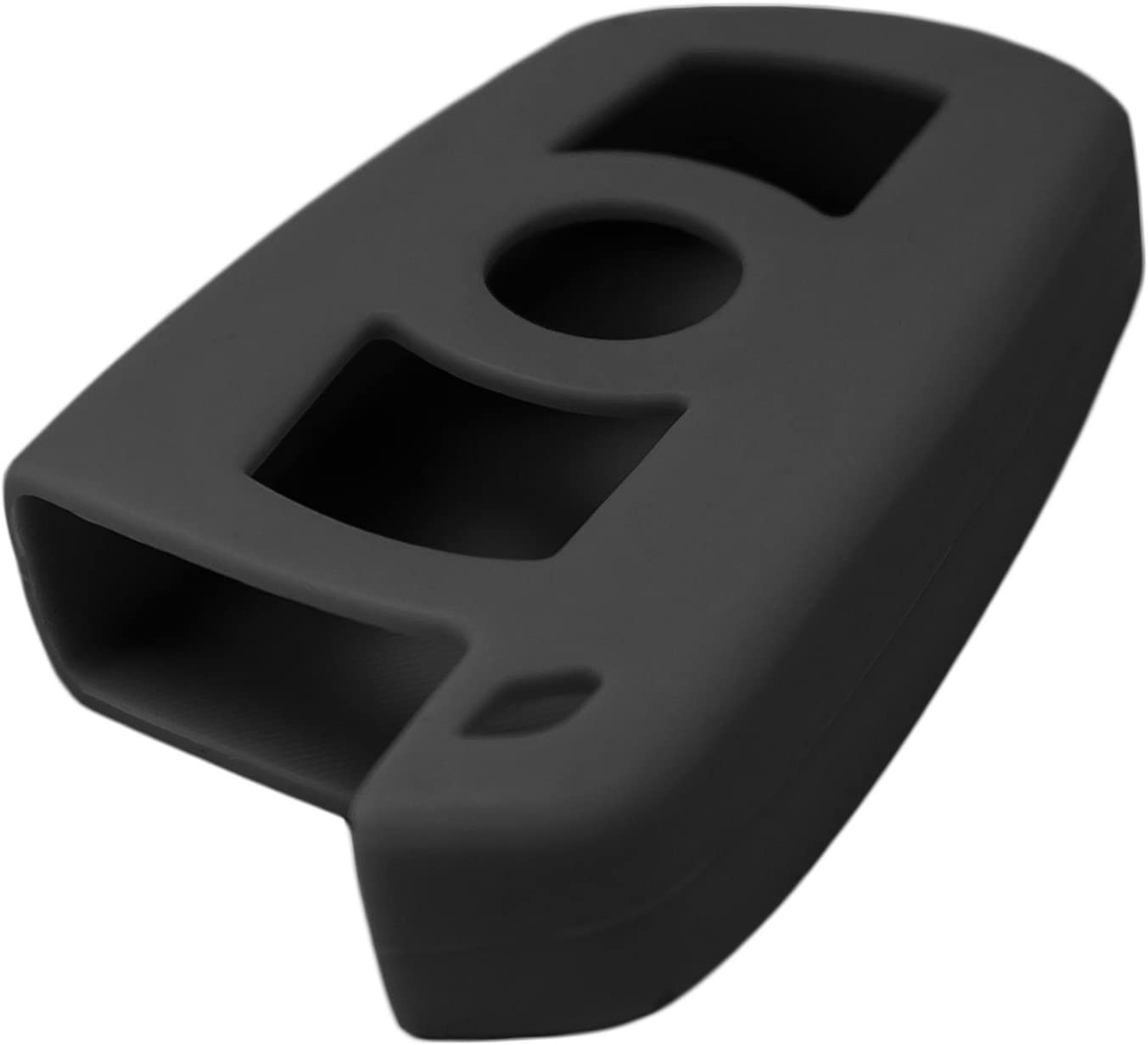 Keyless2Go New Silicone Cover Protective Case for Smart Keys w//Comfort Access with FCC KR55WK49147 Black