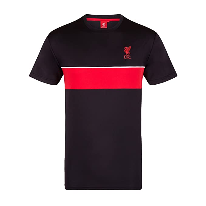 newest ff5ad ad5f8 Liverpool Football Club Official Soccer Gift Mens Poly Training Kit T-Shirt