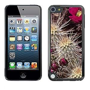 "For Apple iPod Touch 5 , S-type Planta Naturaleza Forrest Flor 91"" - Arte & diseño plástico duro Fundas Cover Cubre Hard Case Cover"
