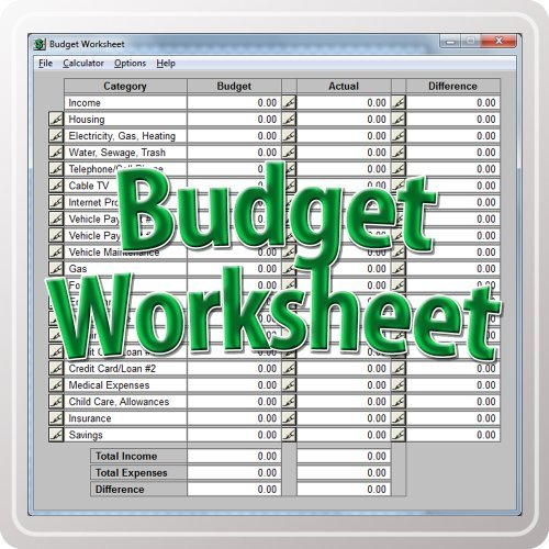 Budget Worksheet [Download]
