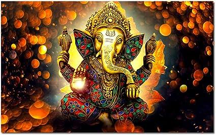arteWOODSCartel de Dios con trompa de Elefante Impresiones
