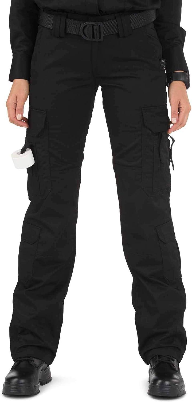 5.11 Tactical Women's Taclite EMS Pants, Black, 8/Long: Clothing