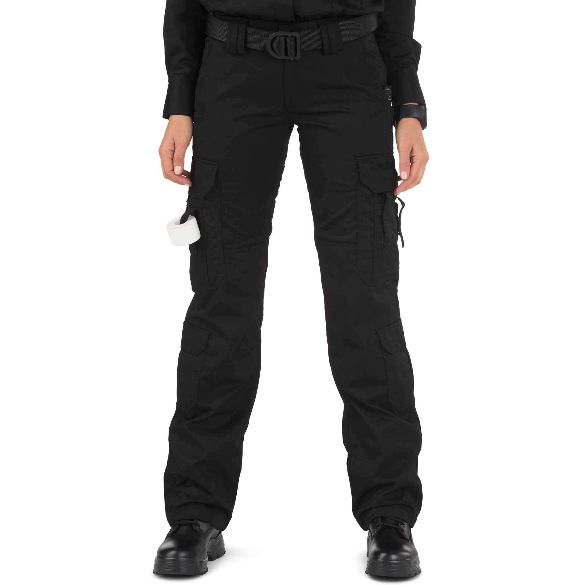 5.11 Tactical Women's Taclite Lightweight EMS Pants Adjustable Waistband Teflon Finish Style 64369