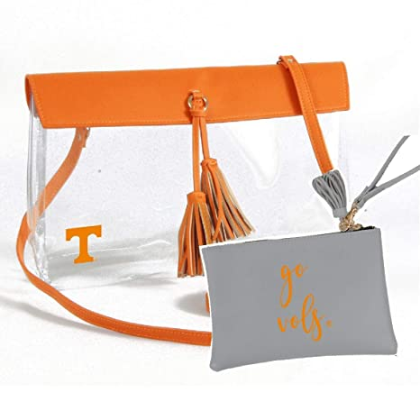 Tennessee Volunteers Clear Gameday Crossbody Bag