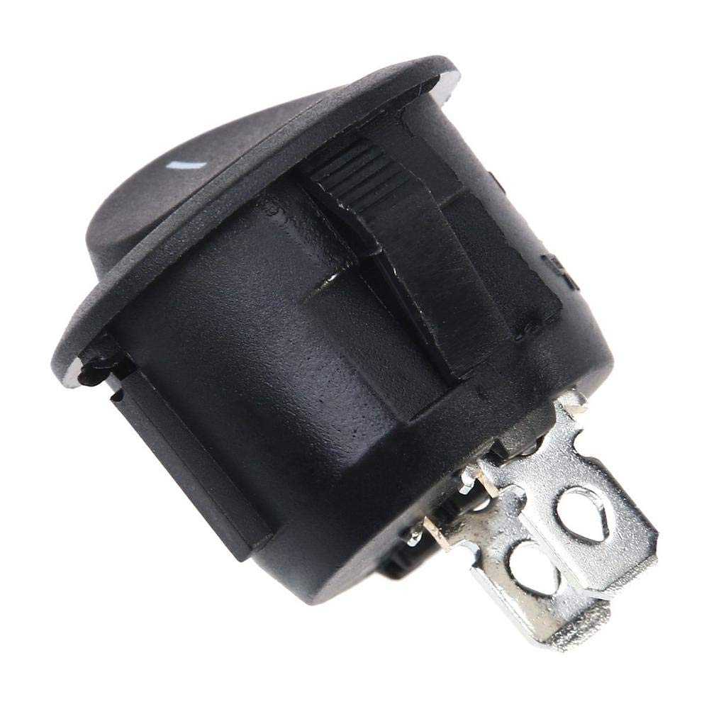 A 5 interruptores basculantes de 2 Pines 4 T90//55 para Coche electr/ónico Clarashop 250 V 12 Accesorios de Coche