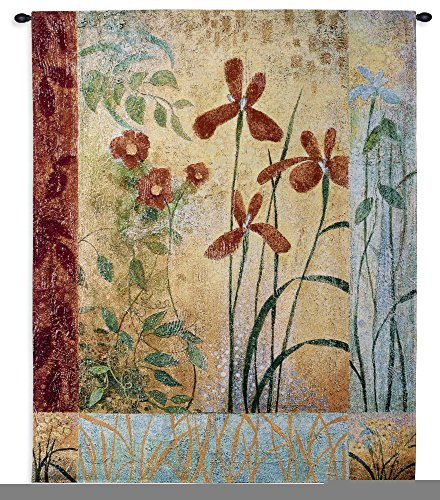 Pure Country Weavers Floral Tapestry (Fine Art Tapestries