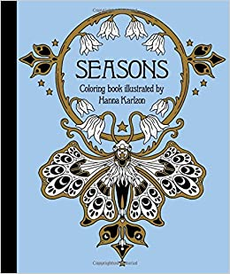 Seasons Coloring Book: Published in Sweden as \