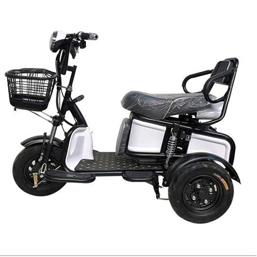 WLY Scooter eléctrico de Tres Ruedas Viejo discapacitado ...