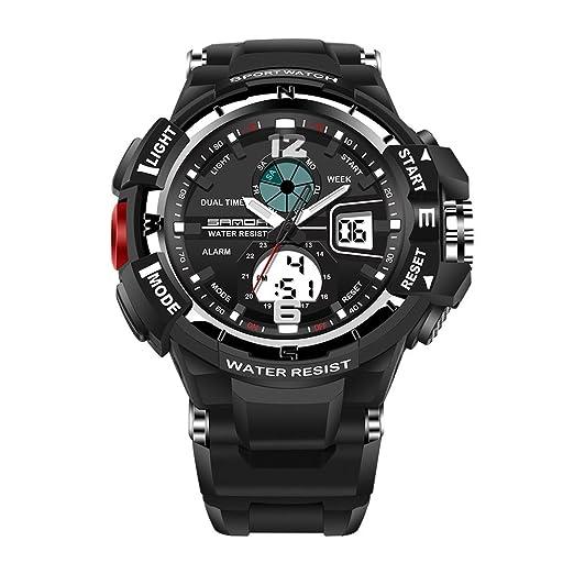 Moda Lujo Reloj Unisex Reloj Hombre Relojes Inteligente LED ...