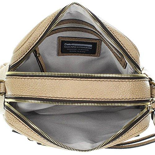 Gianni Chiarini Ivy Pocket Umhängetasche beige 23cm