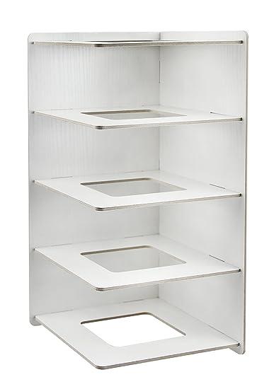 Estantería de almacenamiento para Document mesa archivador de carpetas módulo de índice DIY madera recinto de almacenaje para oficina sala de estudio ...