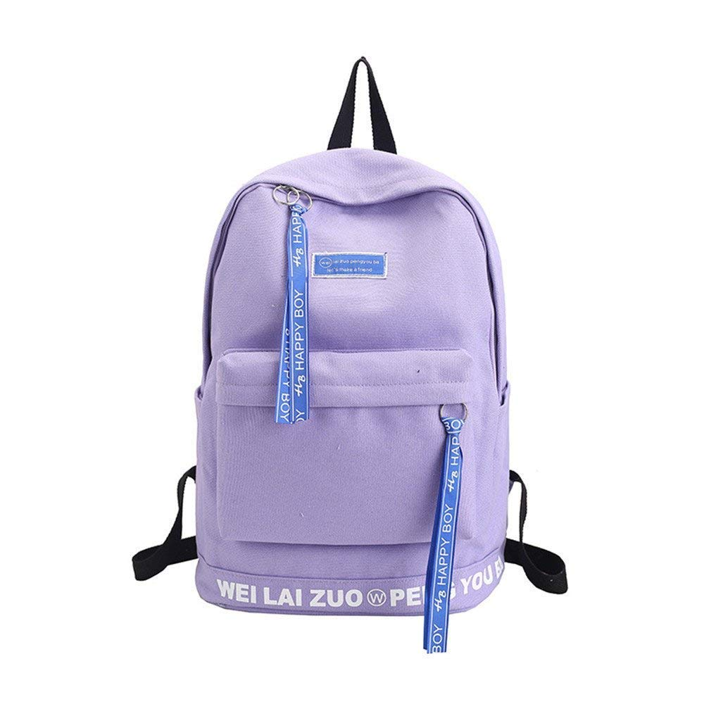 B One Size Lounayy School Bags Dual Kids Backpack School Backpack Simple Stylish Fashion and Backpack and Shoulders Backpack (color   D, Size   One Size)