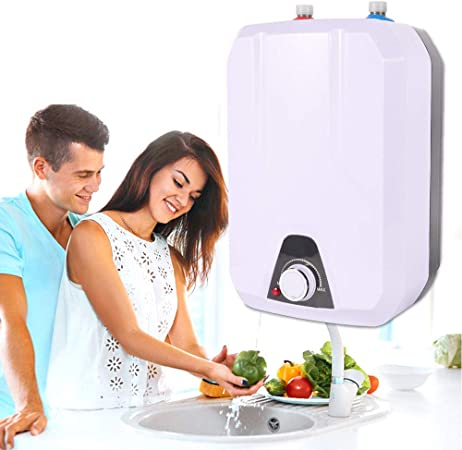 1500W 110V Instant Electric Tankless Hot Water Heater for Sink Tap Faucet Shower