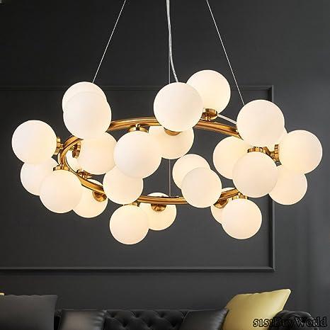5151BuyWorld Moderno LED Lámpara colgante de luces para comedor ...