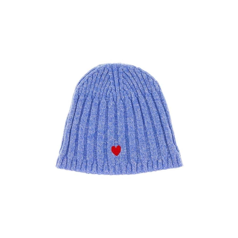 dd7f6244d57 (モスキーノ) Moschino レディース 帽子 ニット CAP01222 Wool Blend Chunky Ribbed Beanie Hat   並行