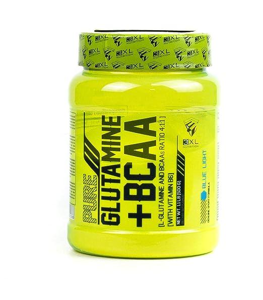 3XL Pure Glutamina + BCAAs 4:1:1 500 gr Blue Light
