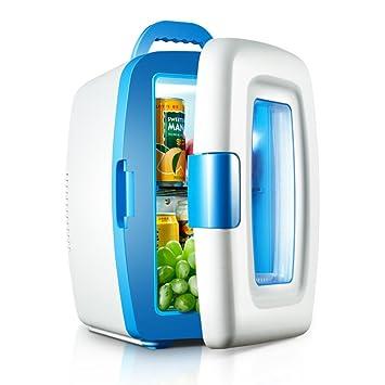 HM&DX Portátil Termoelectrica Mini Frigorífico,Coche Uso Casero,Refrigerador Y Calentador Función 10 litros
