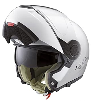 Schuberth C3 Lady – Casco integral, Pearl blanco, mujer