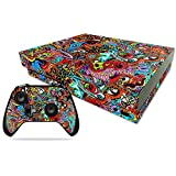 Cheap MightySkins Skin for Xbox One X Combo – Acid Trippy Protective, Durable, and Unique Vinyl Decal wrap cover | Easy To Apply, Remove, and Change Styles | Made in the USA